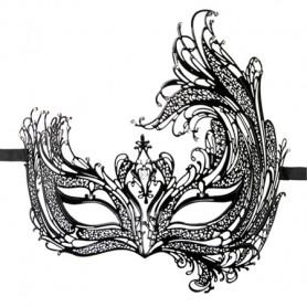 Stilvolle venezianische Maske