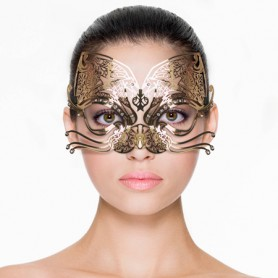 Venezianische Maske | Katzenstil