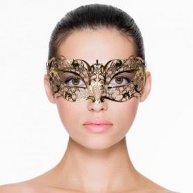 Venezianische Maske in Gold