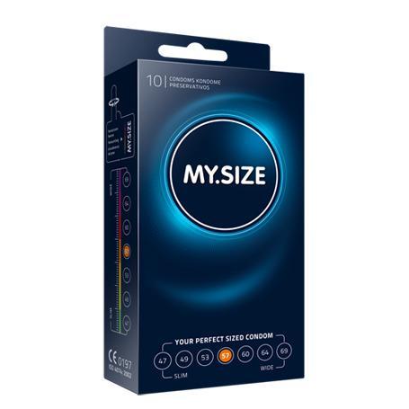 MY.SIZE 57 mm 10er   große Kondome