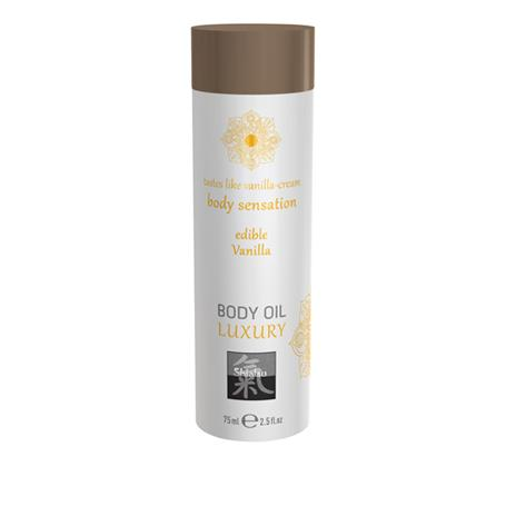 Luxus-Körperöl essbar - Vanille