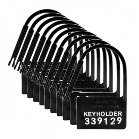 Keyholder Nummerierte Plastik-Schlösser - 10 Stück