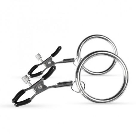 Nippelklemmen mit großen Ringen