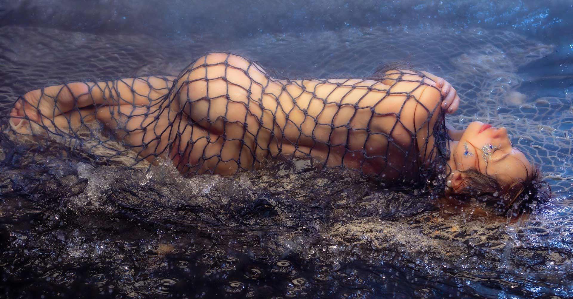 BDSM-Meerjungfrau